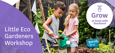 Join our Little Gardeners Workshops On Demand