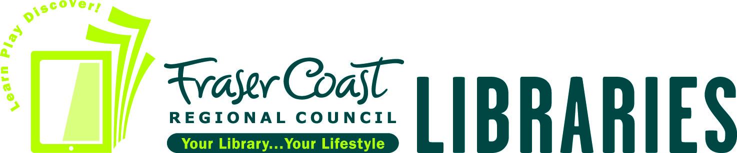 fraser coast library logo