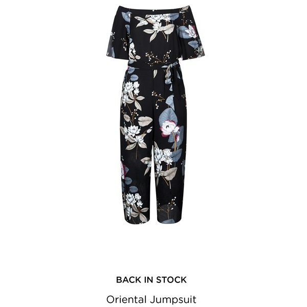 Oriental Jumpsuit - City Chic