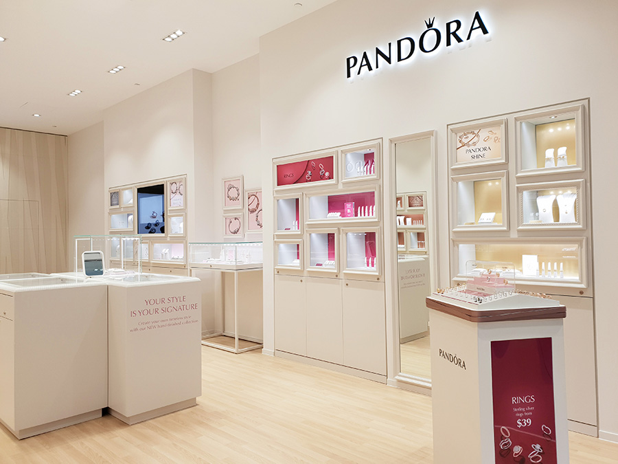 Pandora Stockland Merrylands New Store