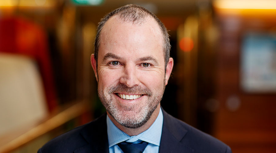 Stockland executive Andrew Whitson