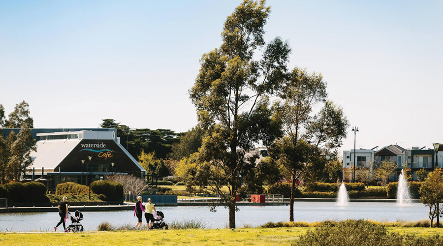 Lakeside at Highlands in Craigieburn, Victoria
