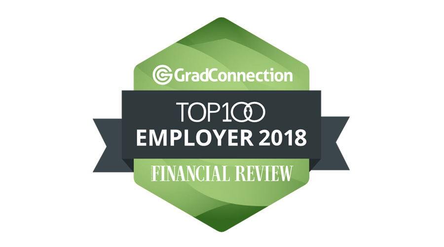 Stockland was recognised as a Top 100 Graduate Employer for 2018 by The Australian Financial Review.