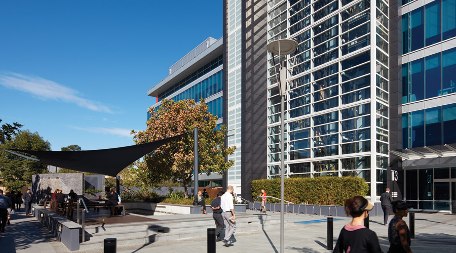 Stockland's Triniti Campus in North Ryde NSW