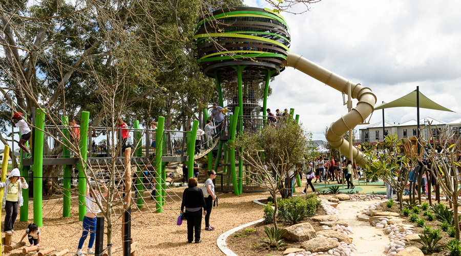 The Jungle Park at Stockland's Whiteman Edge community in Brabham (WA)