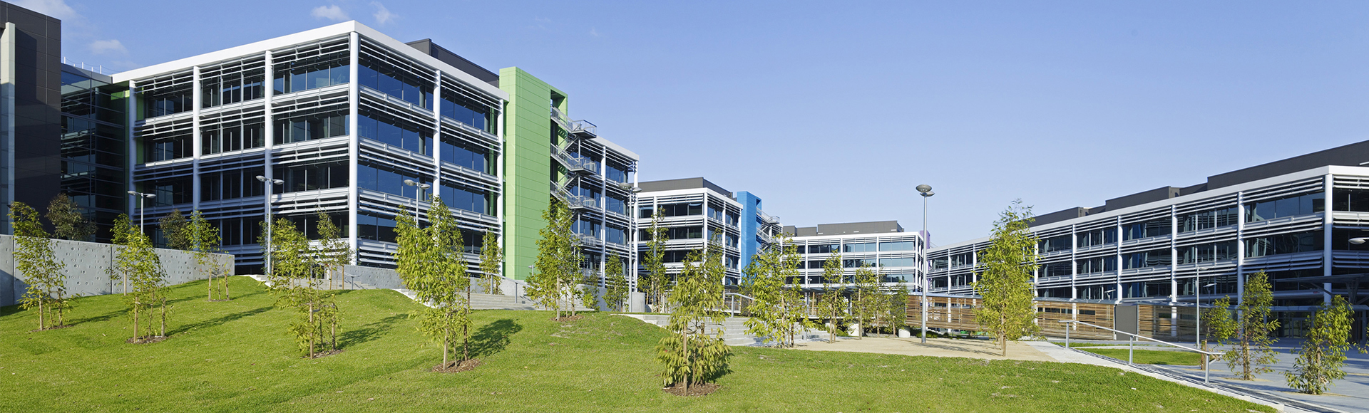 Optus Centre Macquarie Park Ground Shot Exterior 1920x580