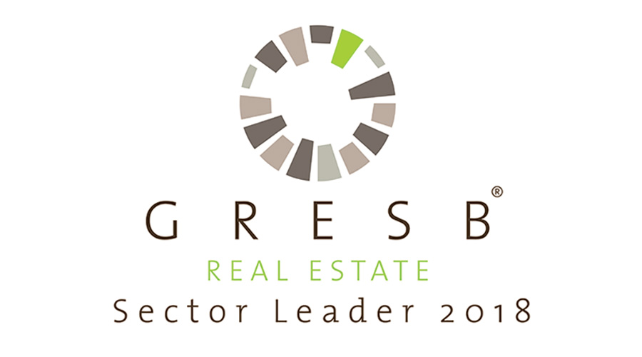 Stockland was named the 2018 Global Sector Leader for listed companies in the category Diversified - Retail/Office by GRESB.