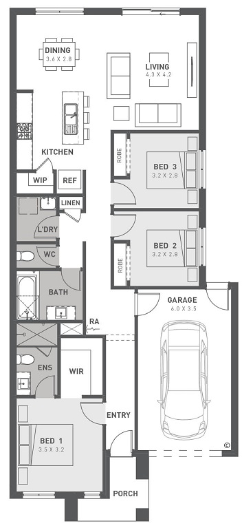 Floorplan  Asher 15
