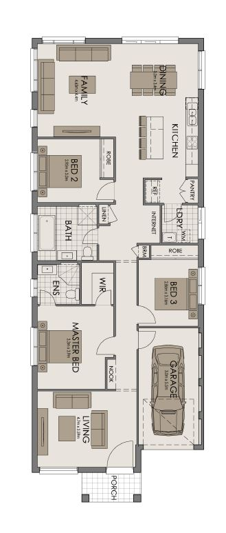 Sundancer 18 Floor Plan
