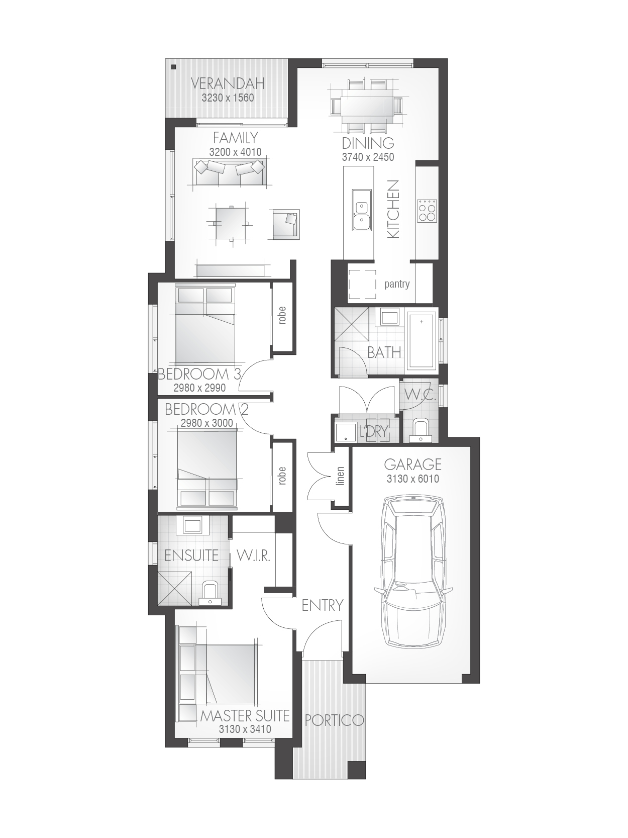 Kiana 15 Floorplan QLD