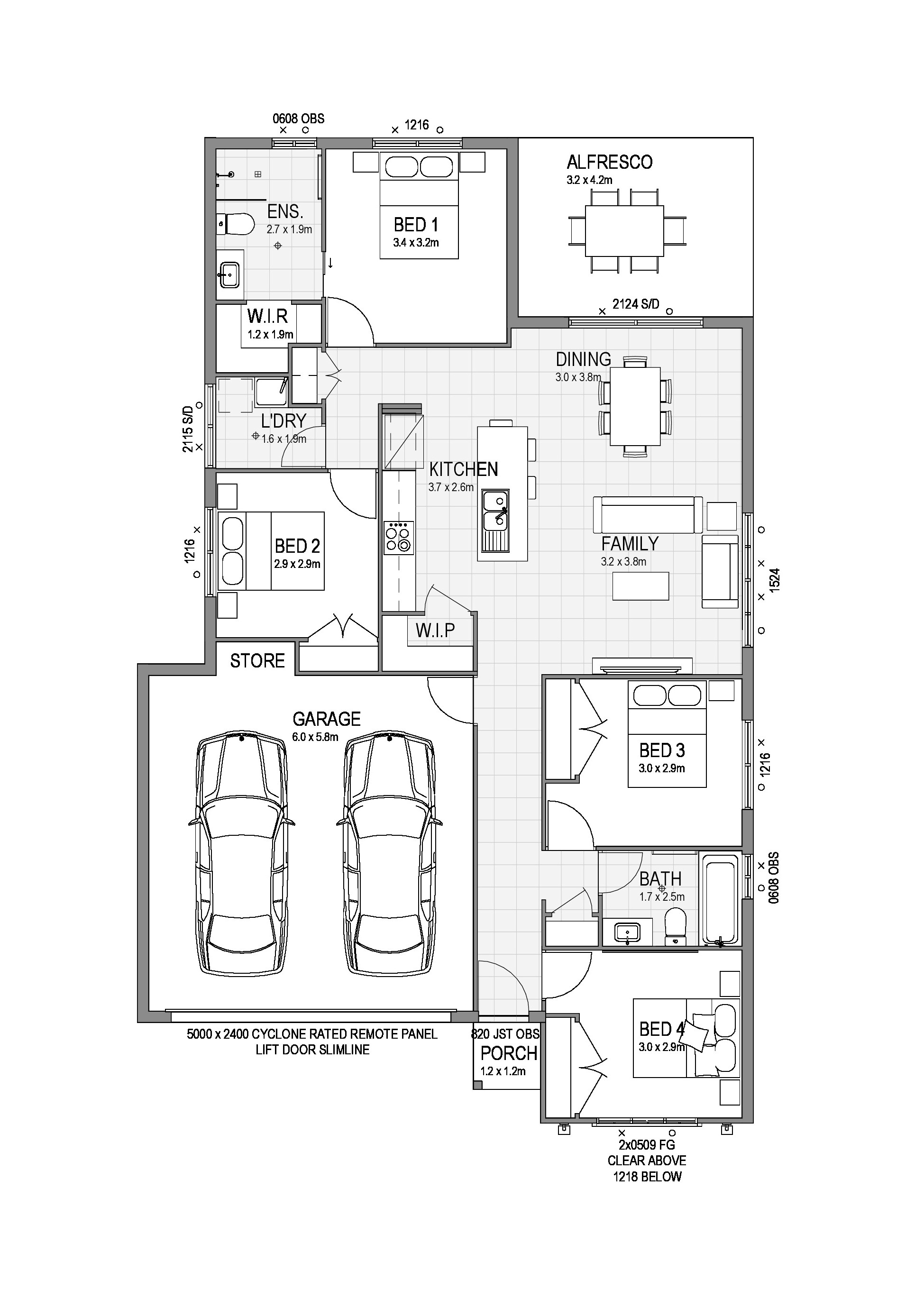 EAST PORT 171 Floor Plan