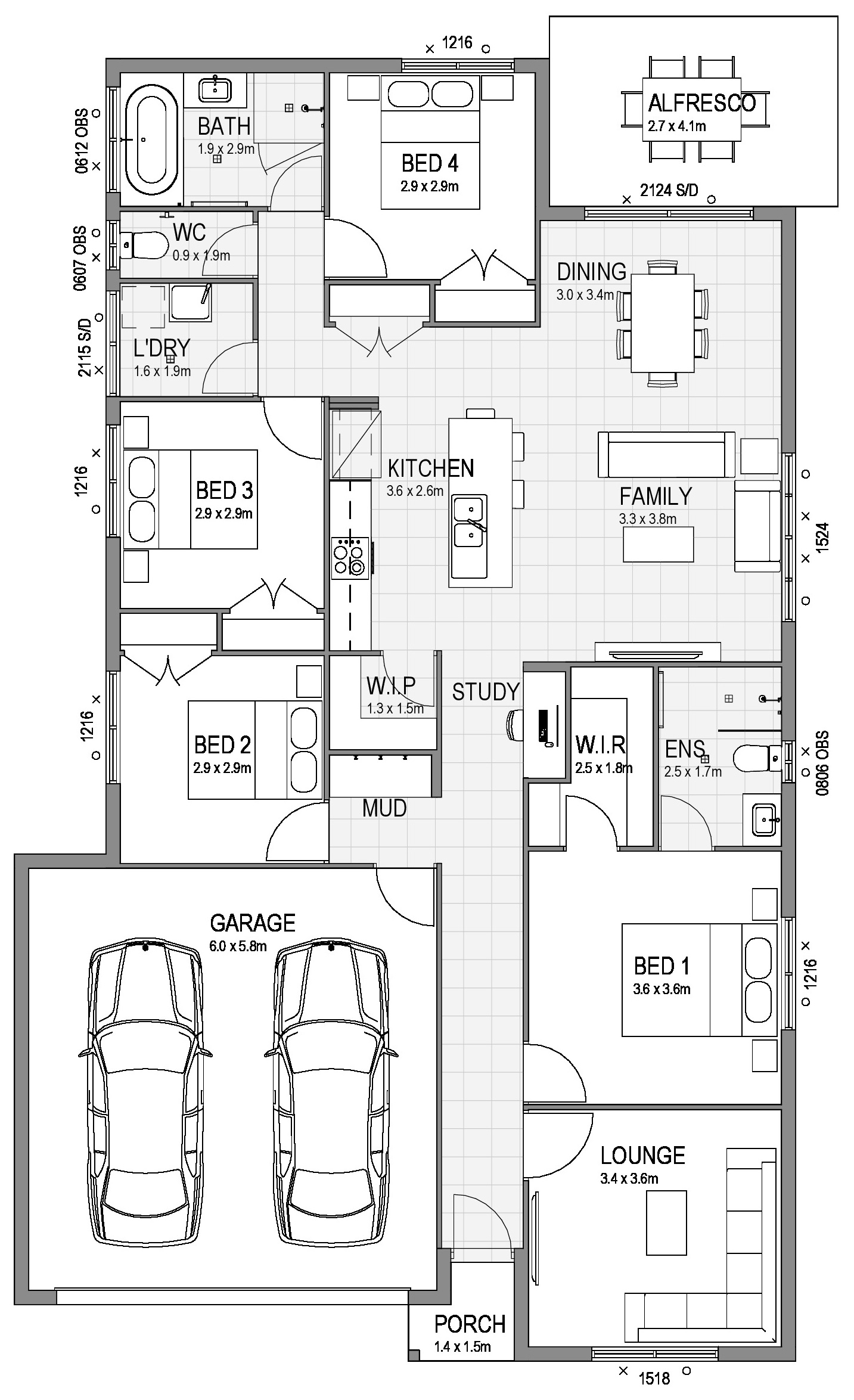 EAST PORT Floor Plan 190