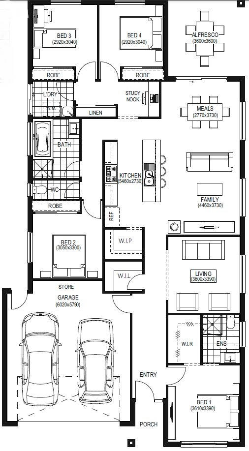 Newport_FloorplanLHS