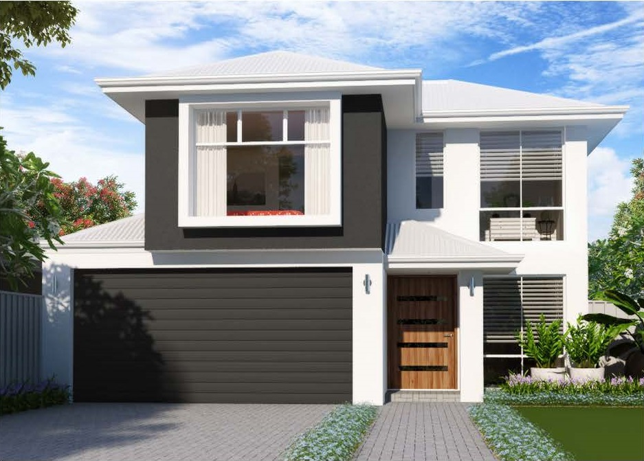 Toucan option2 LHS elevation Start Right Homes