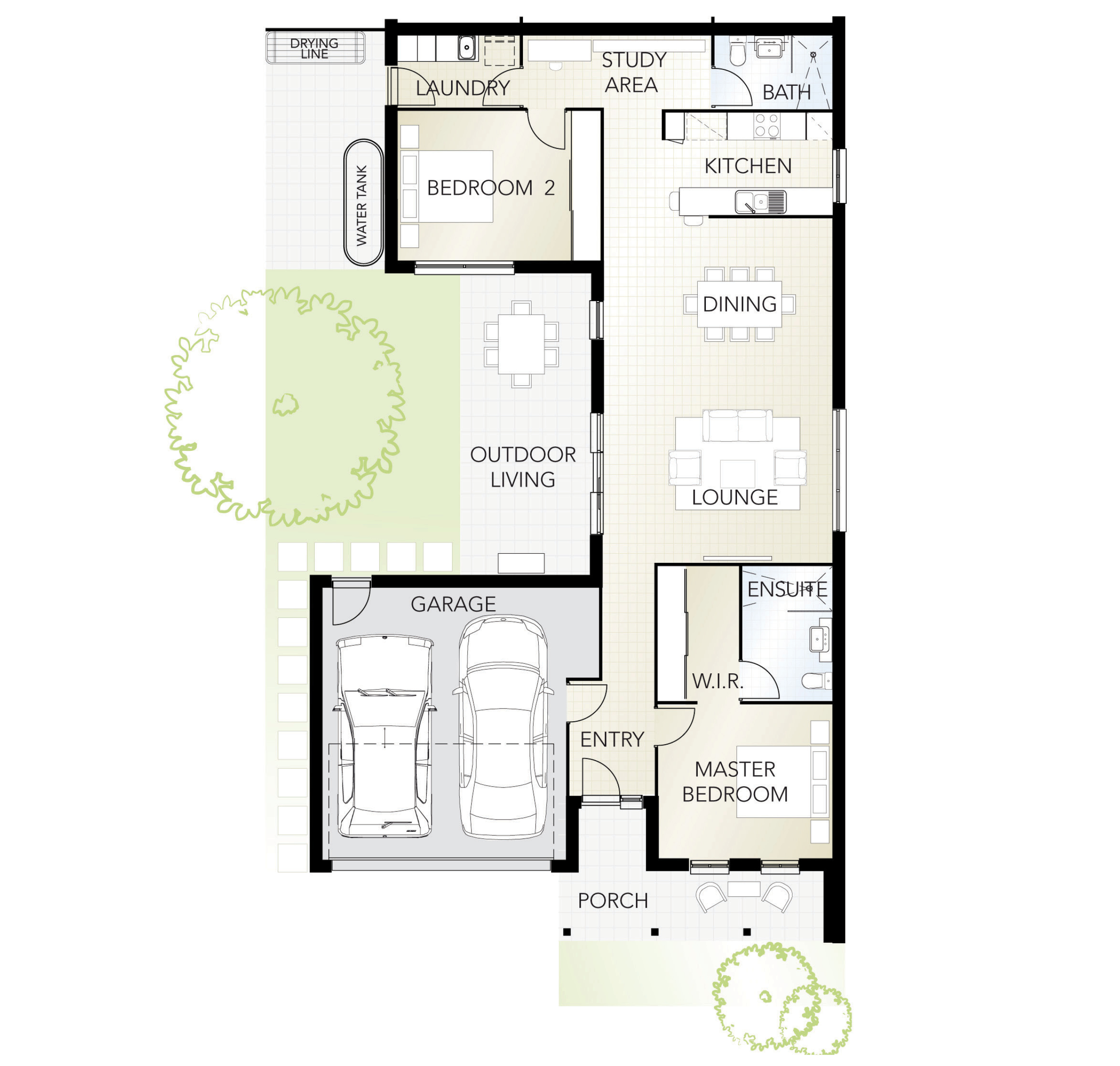 Fig Tree ILU_2x2x2x1 Floorplan