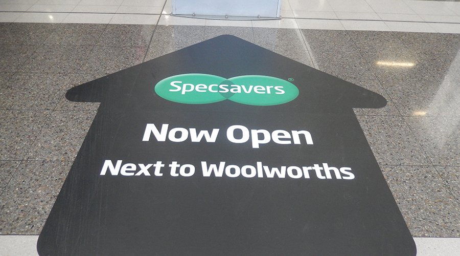 point cook professional services specsavers floor decal 900x500