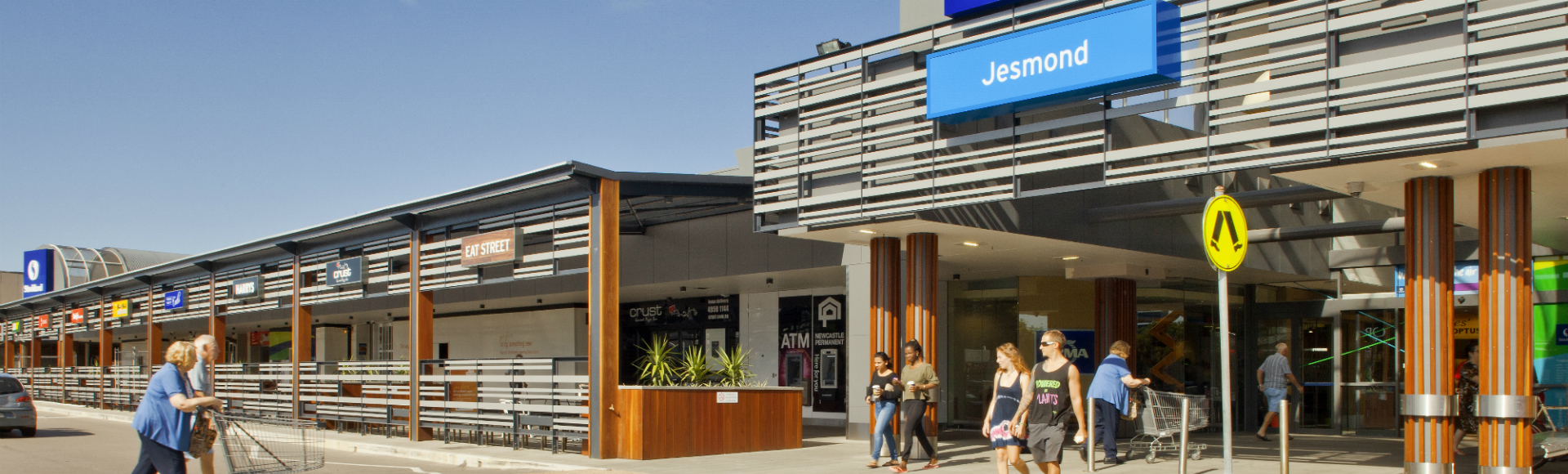 Jesmond Shopping Centre Main Entrance 1920x580px