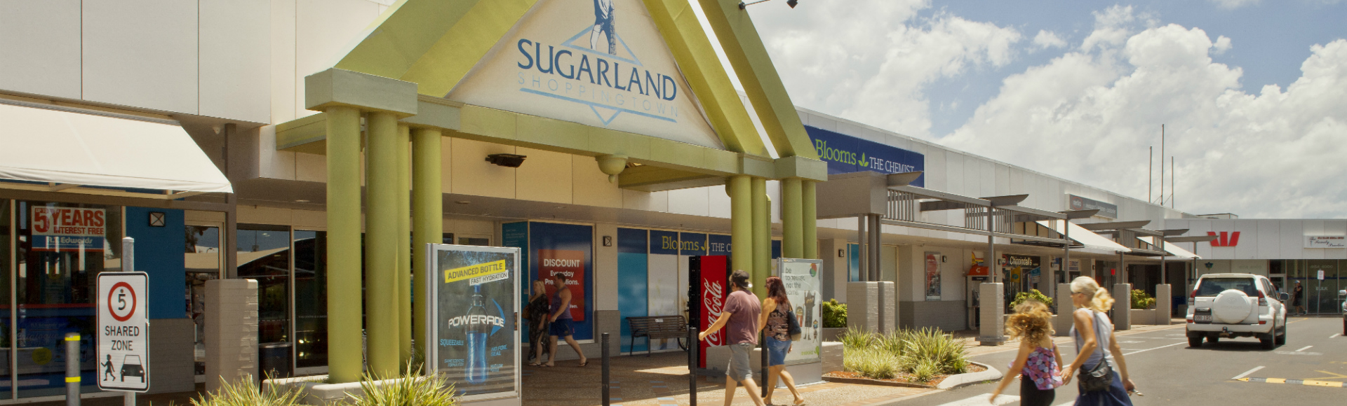 Bundaberg Main Entrance to Shopping Centre 1920x580px