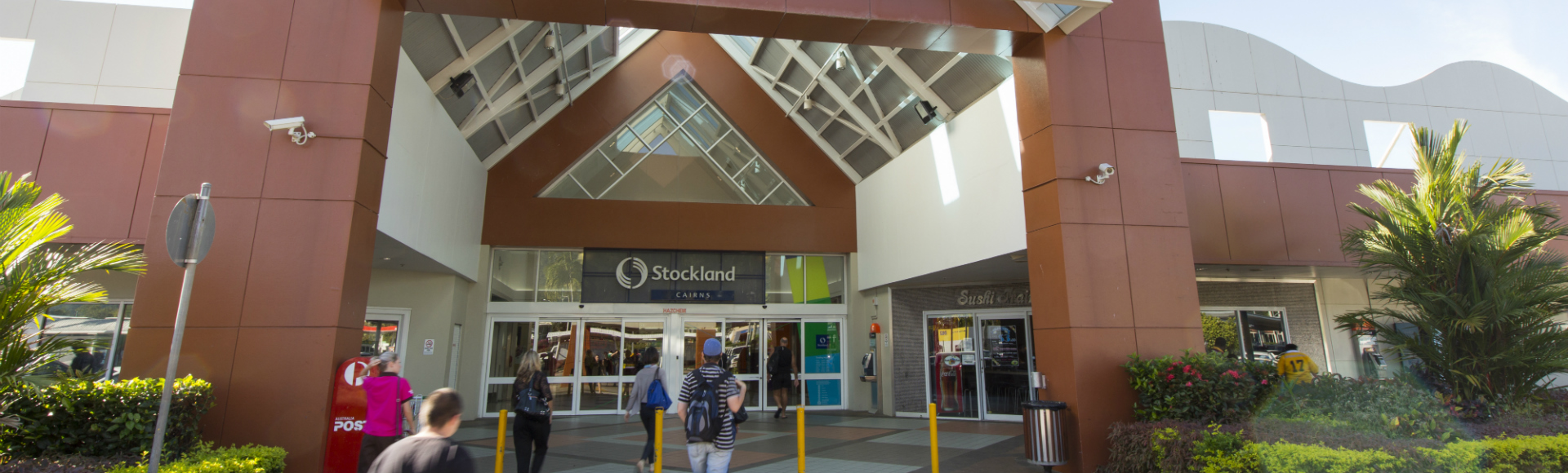 Cairns Main Entrance to Shopping Centre  1920x580px