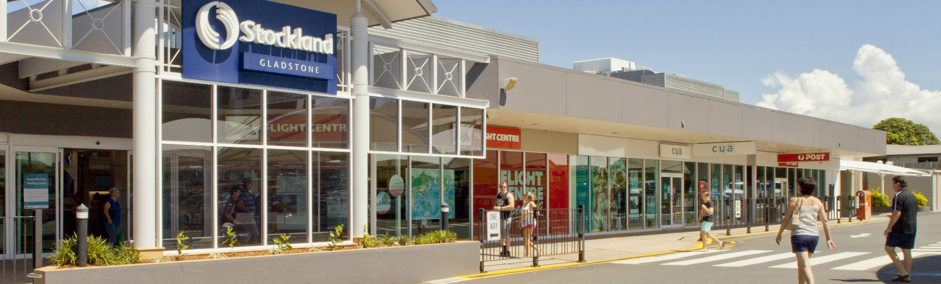 Gladstone Shopping Centre Main Entrance 1920x580px
