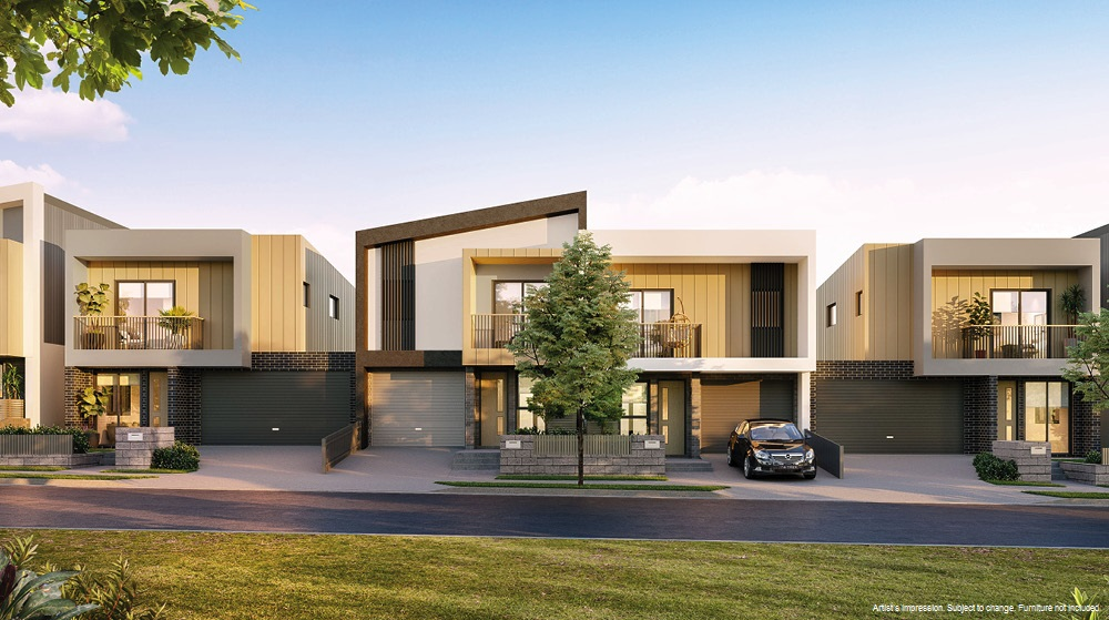 Townhome offering at Stockland Altrove