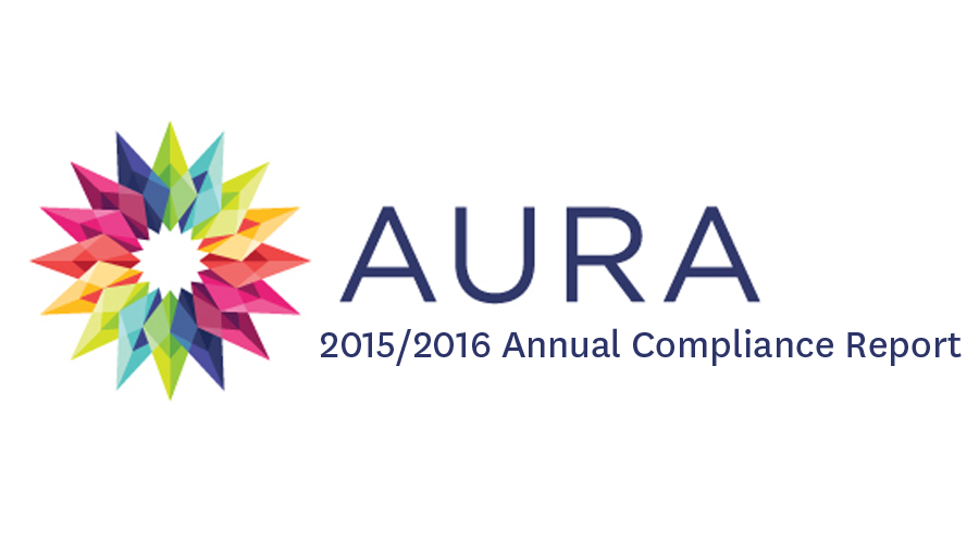 Aura_2015 2016 Annual Compliance Report_900x500