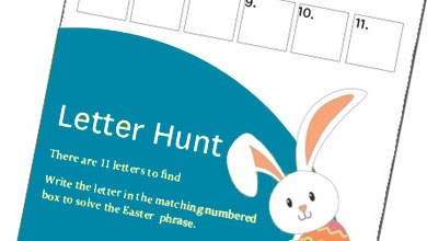 Sovereign Pocket Easter Letterhunt