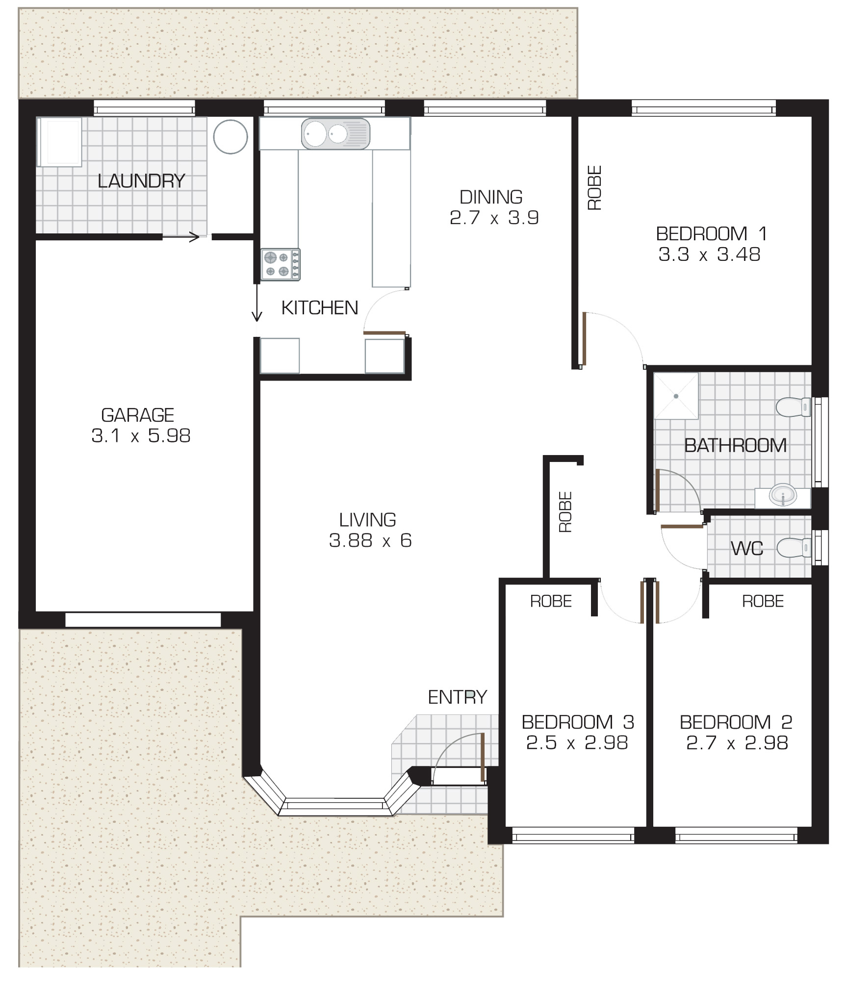 Lincoln Gardens Sherwood Floorplan