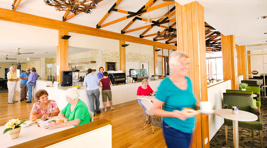North Lakes Retirement Resort facilities and activities
