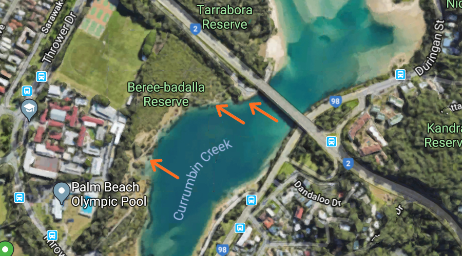 Jetty Locations for Fishing near Pine Lake Retirement Village