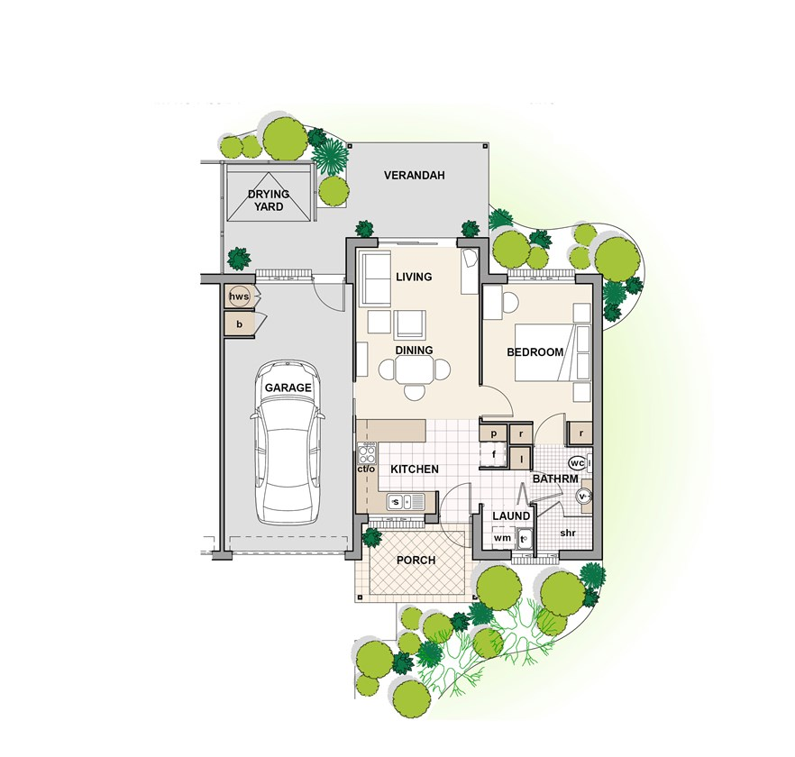 Eden floor plan