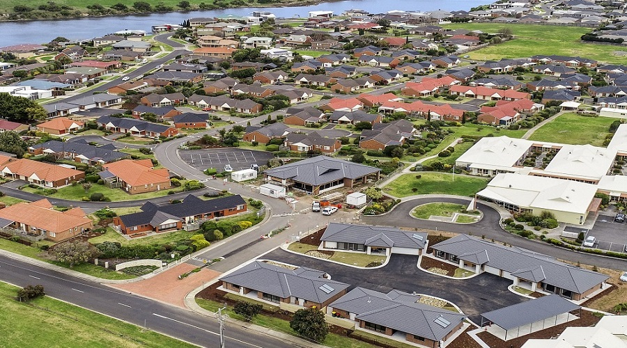 Gillin Park Retirement Village in Warrnambool located on Mahoneys Road near the Hopkins River
