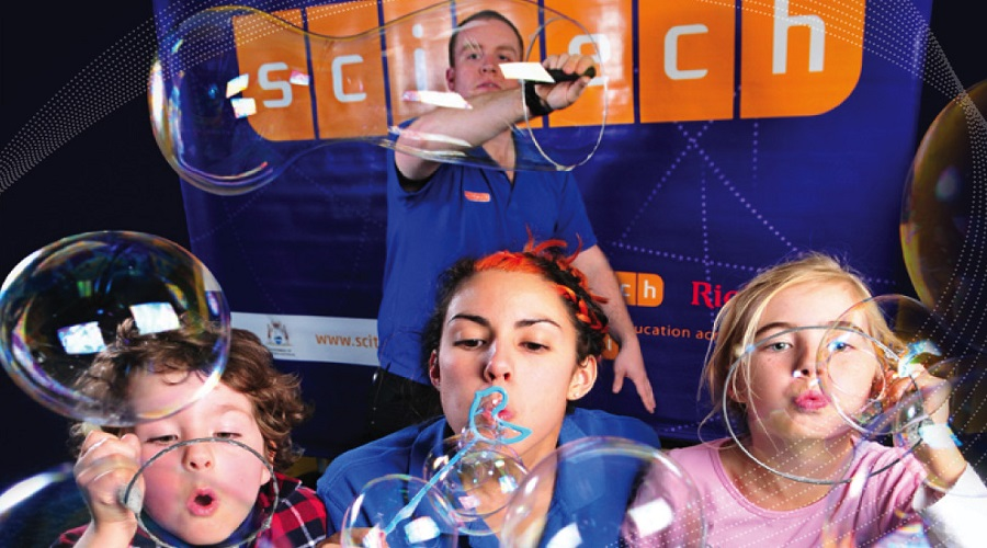 A science wonderland presented by Scitech at Stockland Baldivis Shopping Centre