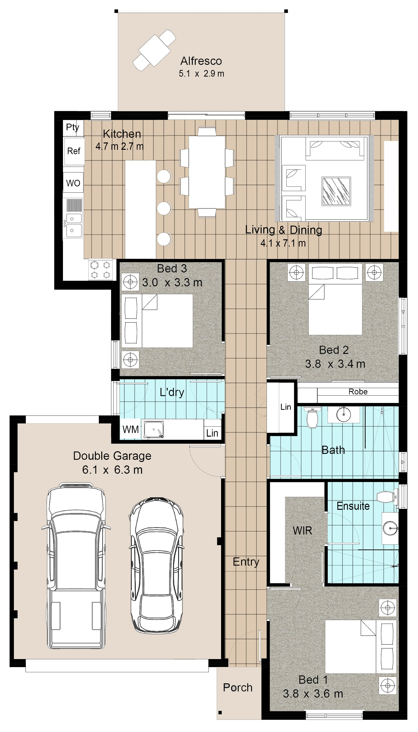 Aspire at Calleya Augusta floorplan
