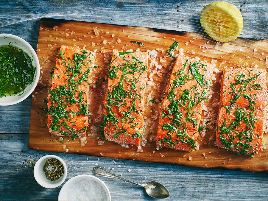 S is for Salmon with a Herbed Sea Salt Crust  Stockland A to Z of Mmmm