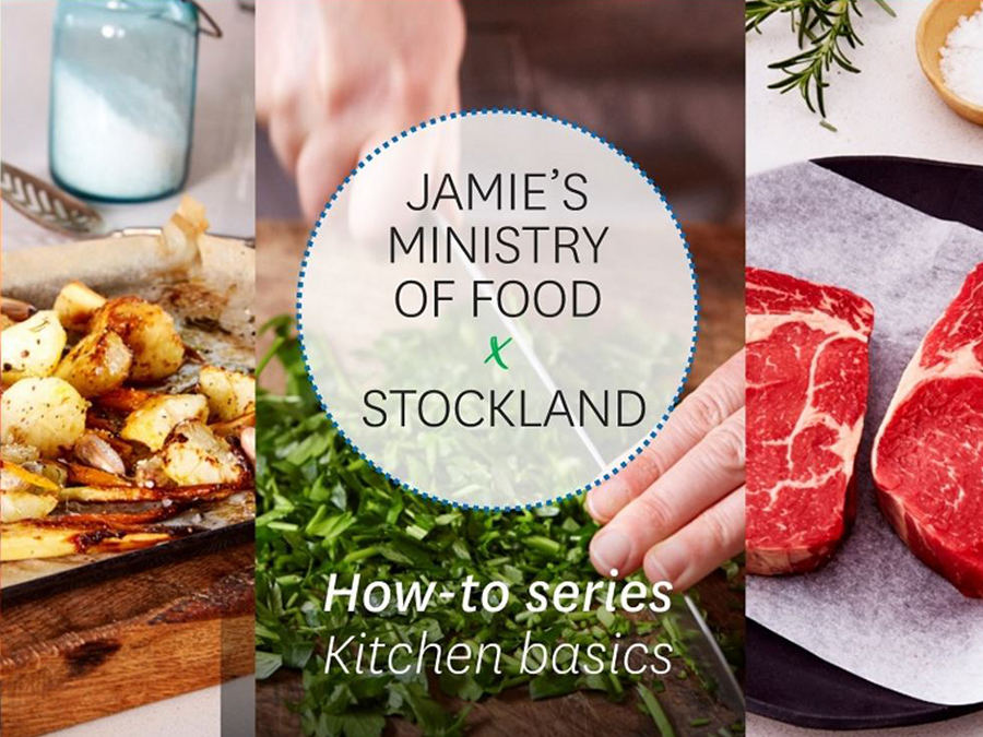 Stockland ✘ Jamie's Ministry of Food • HOW-TO-SERIES