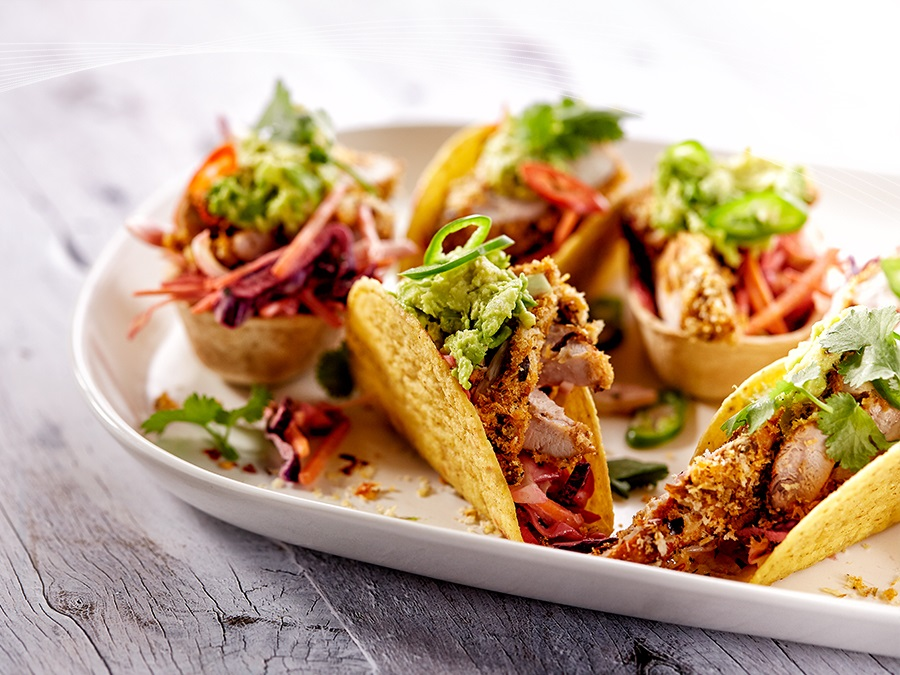 Crispy Chicken Tacos - Miguel Maestre Recipes