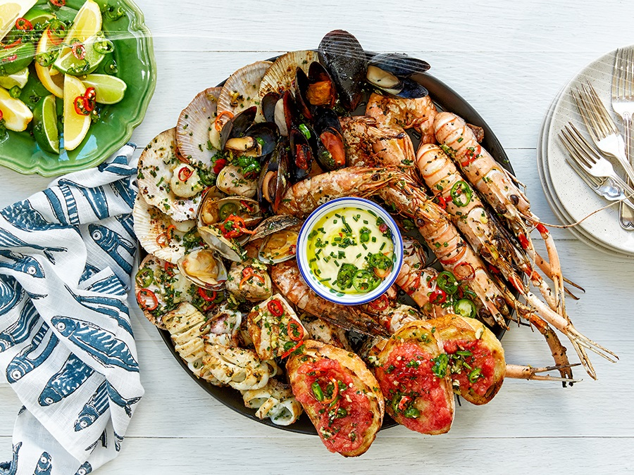 Seafood BBQ - Miguel Maestre Recipes