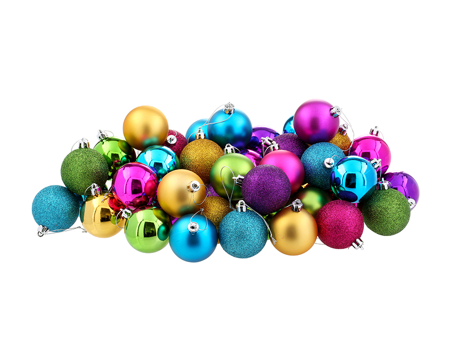 Big W Christmas Baubles Multipack