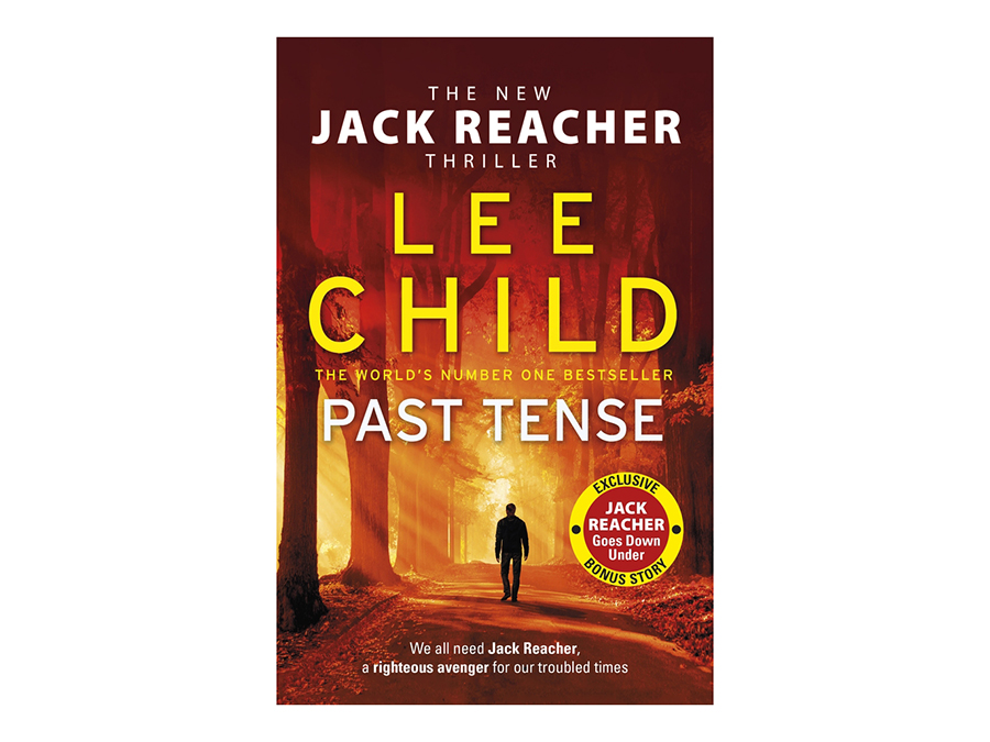 Big W Past Tense Book by Lee Child