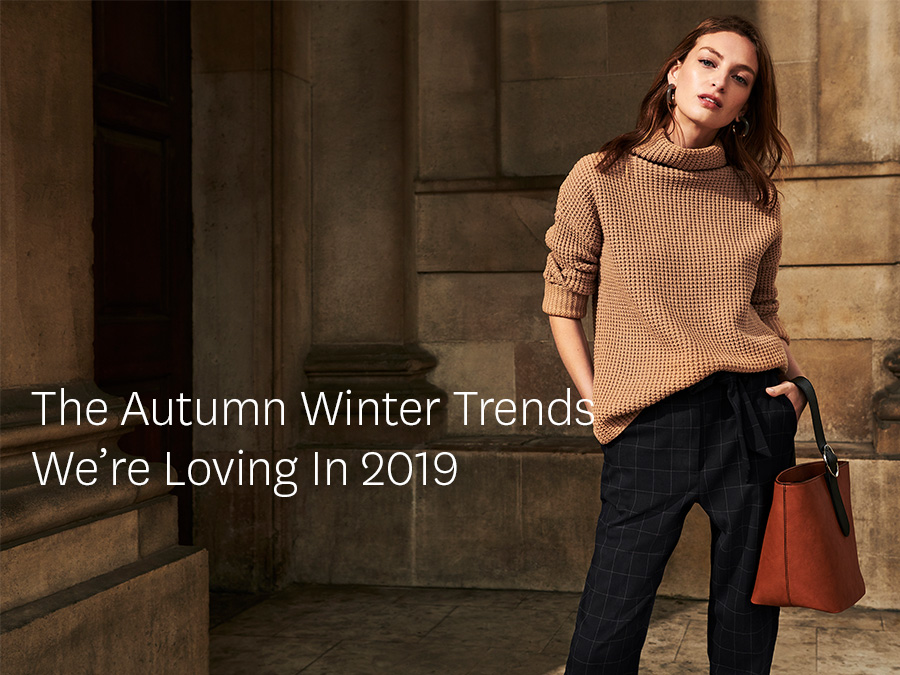 0a26e190de8 The autumn winter trends we re loving in 2019