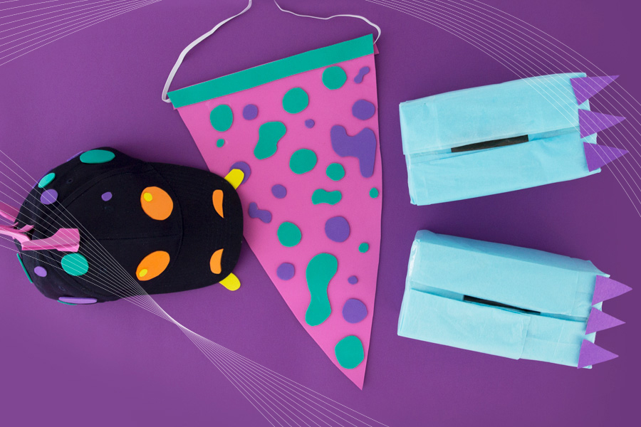 DIY Dinosaur Dress Up
