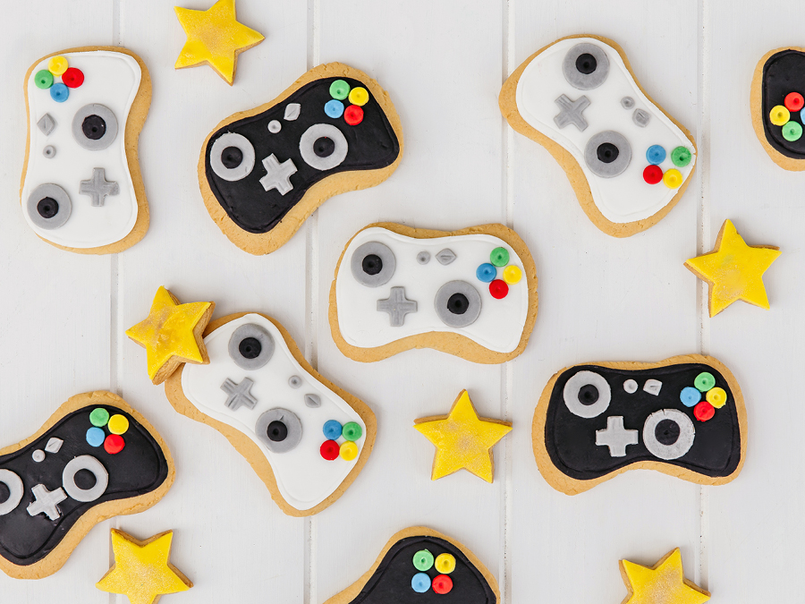 Gaming inspired cookies