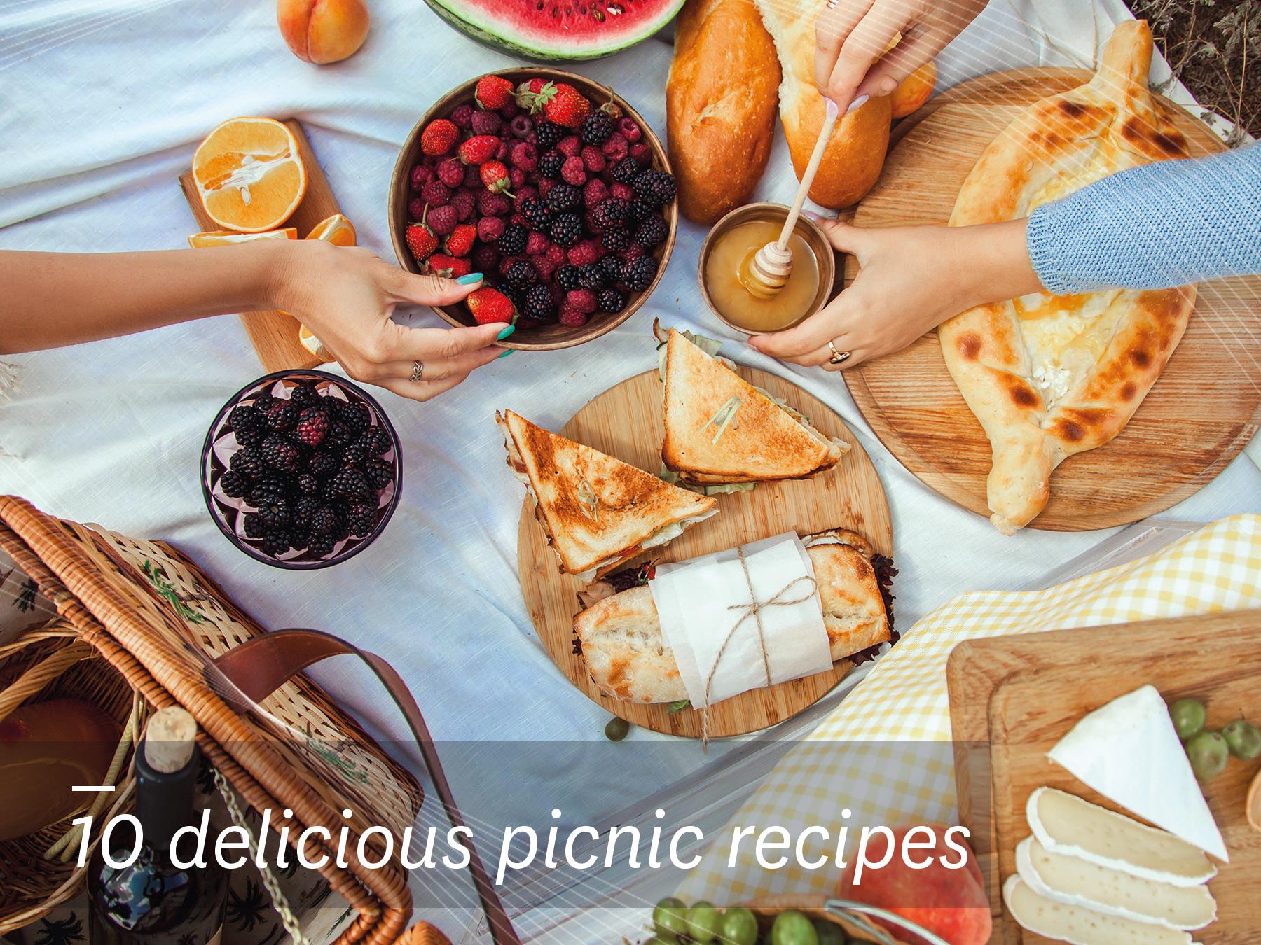 10 Delicious Picnic Recipes