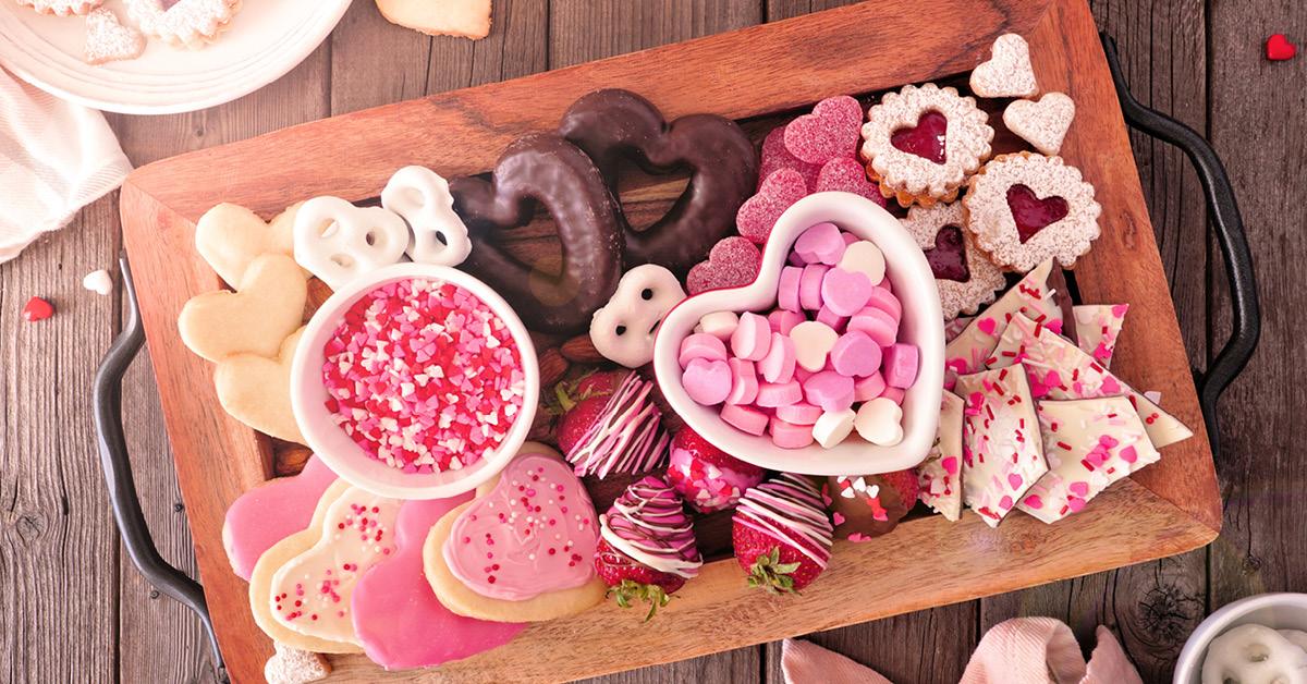 Valentine S Day Dessert Board