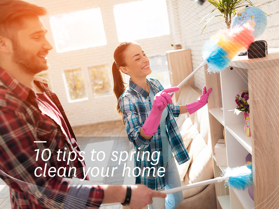 10 Organisation Tips and Ideas To Spring Clean Your Home