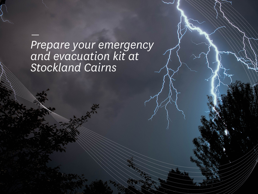 Where To Get Your Emergency and Evacuation Kits from Stockland Cairns