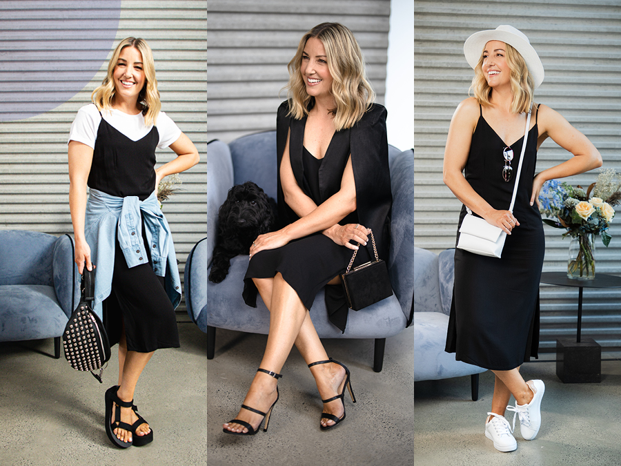 How to style one dress three ways