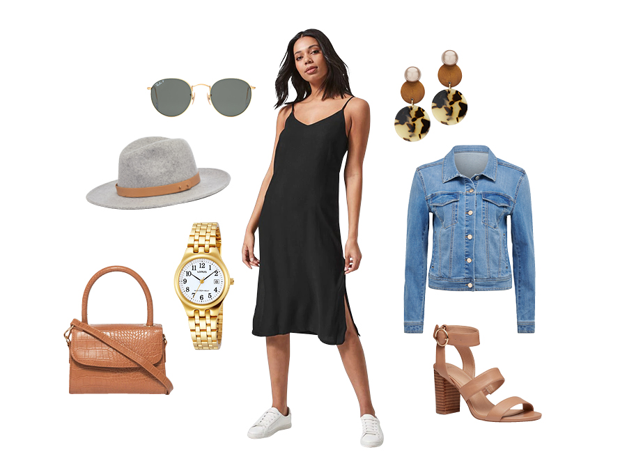 One dress - three ways. Brunch Outfit