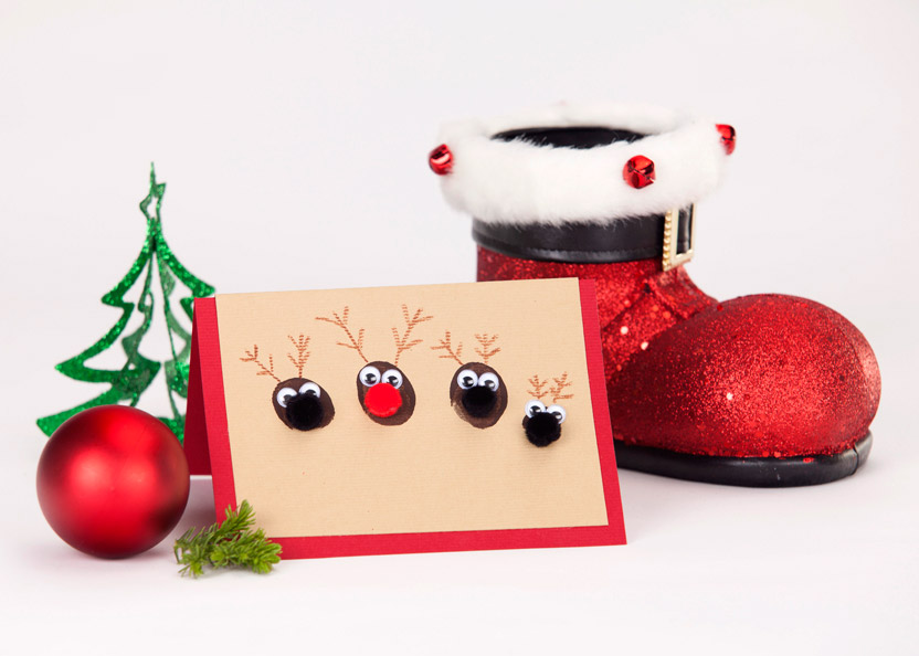 Kids Craft: Christmas Cards